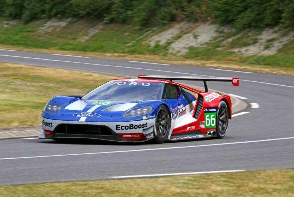 Esta versión de competencias del Ford GT competirá en las 24 Horas de Le...