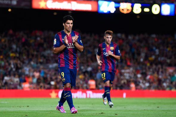 Aún faltaría el sexto gol, obra de Sandro Ramíres, para definir el triun...