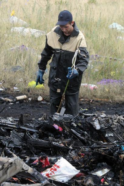 El Ministerio de Situaciones de Emergencia de Ucrania buscaba desde ayer...