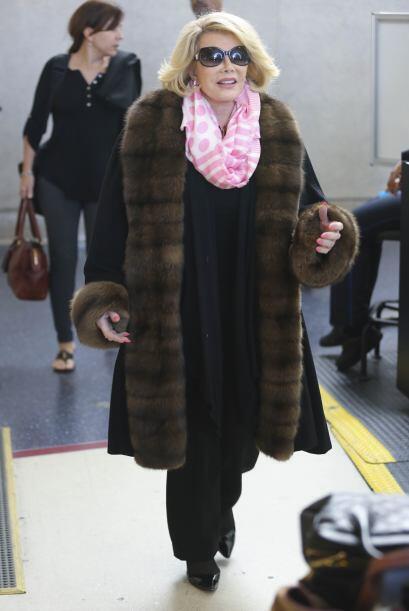Joan Rivers fue una mujer que luchó por ganarse un lugar en la farándula.