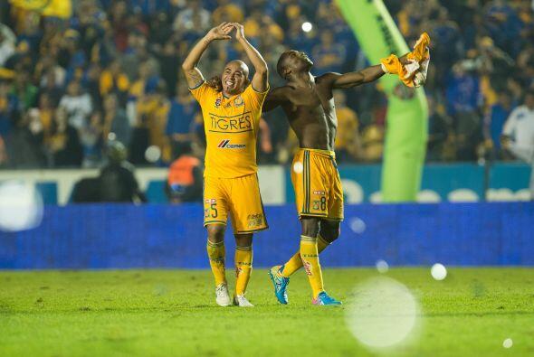 Con este resultado, los Tigres llegarán al Estadio Azteca con la tranqui...