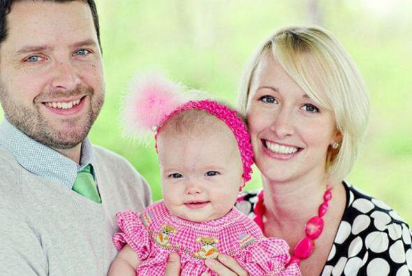 La pequeña Olivia nacería en el año 2010, un año después de la boda.   U...