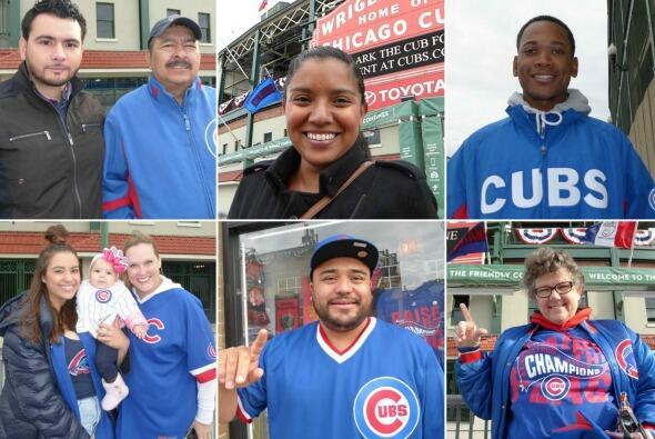 Fans por los Cubs