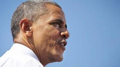 El Presidete de Estados Unidos, Barack Obama, tiene ventaja sobre Mitt R...