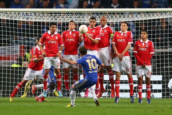 El segundo tiempo se iba acabando y el partido se dirigía a los tiempos...