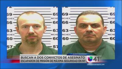 Buscan a dos convictos de asesinato