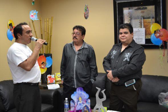 """Federico """"El Pollo"""" Estevan y Pedro de 'Grupo Pegasso' promovieron el co..."""