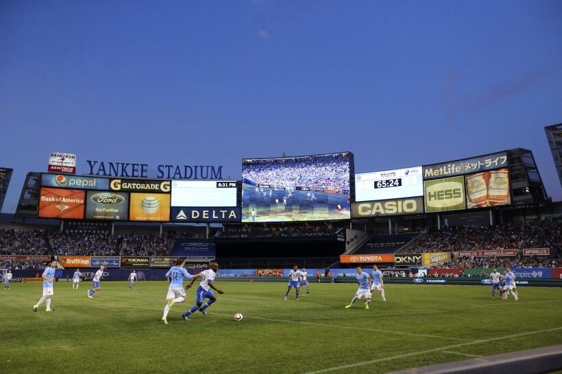 New York City FC recibió en el Yankee Stadium a Montreal Impact l...