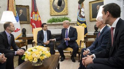 Trump califica de 10 la respuesta de la Casa Blanca en Puerto Rico tras el paso del huracán María