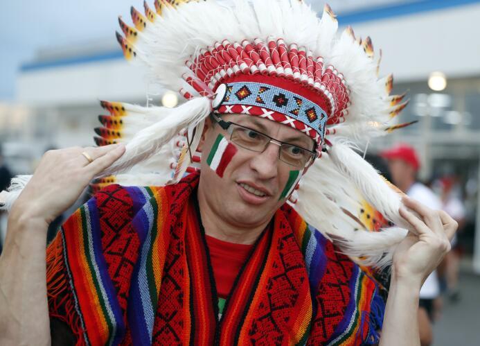 Belleza y sentimiento mexicano se tomaron el Olímpico de Sochi 636343606...