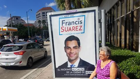 El equipo de Francis Suárez, el favorito para ganar la alcald&iac...