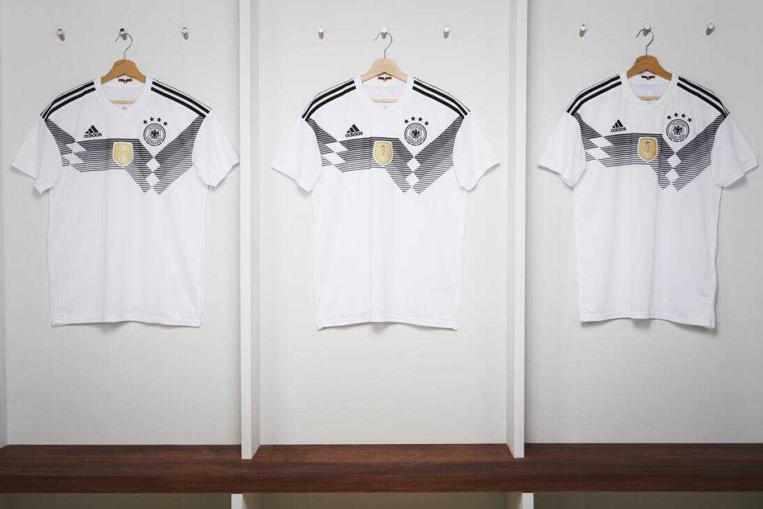 Adidas presentó los nuevos uniformes para el Mundial de Rusia 2018 germa...