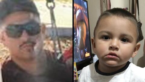 Carlos Reyna (izq.) es el padre de Noe (der.) y las autoridades creen qu...