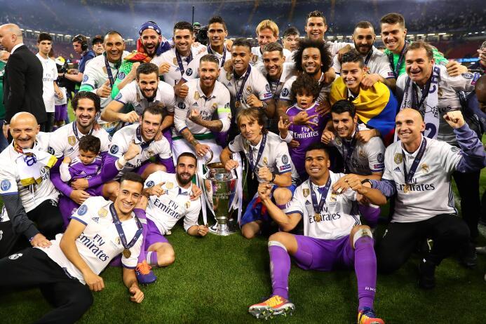 El Real Madrid arrasa en nominaciones a lo mejor de la Champions League...