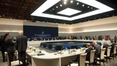 Inició la II Cumbre Seguridad Nuclear que contará con la presencia de lí...