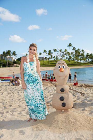La estrella de 'Modern Family', Sarah Hyland prefirió el clima de la pla...