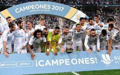 Real Madrid logró su décima Supercopa de España.