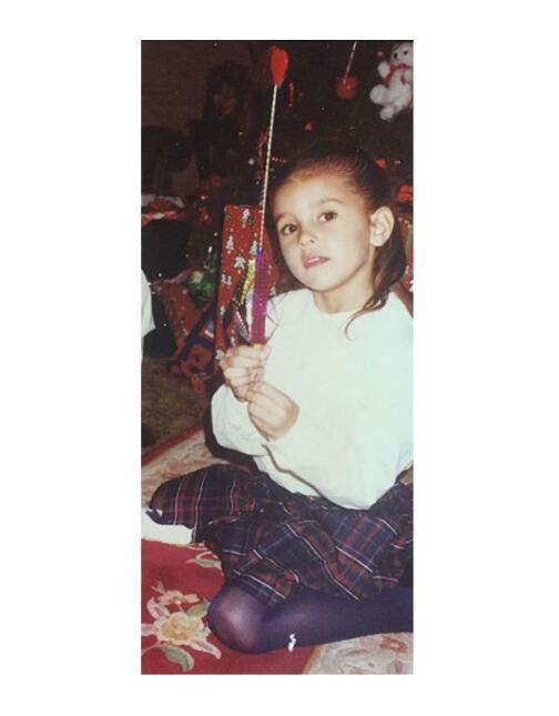 Paulina Goto de niña