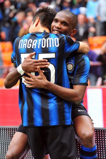 El Inter y Samuel Eto´o volvieron a sonreir.