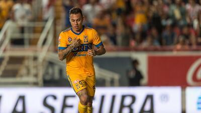 Edu Vargas podría dejar a los Tigres
