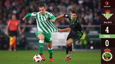 Lo Celso sigue llenando el hueco de Guardado haciendo ganar al Betis en Copa