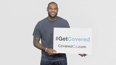 LeBron James se suma al Obamacare