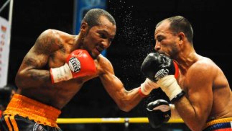 Anselmo 'Chemito' Moreno, campeón gallo de la Asociación Mundial de Boxe...