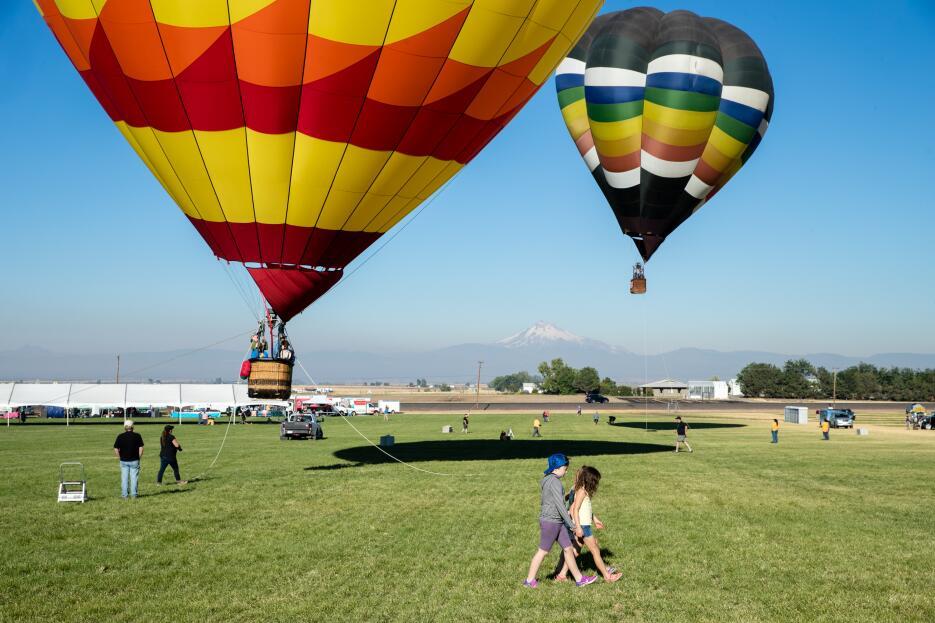En fotos: Así se ven los pueblos de EEUU en donde miles de turistas acam...