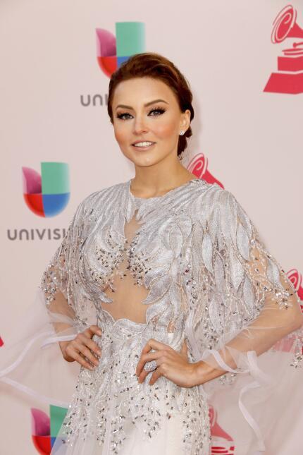 Angelique Boyer se reencuentra con parte del elenco de 'Rebelde'