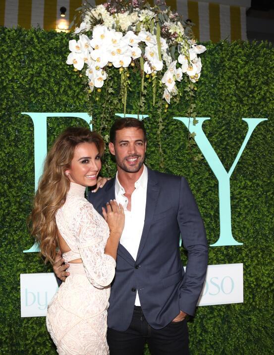Elizabeth Gutiérrez y William Levy viven un amor de telenovela