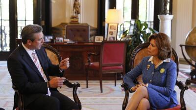 El gobernador Alejandro García Padilla se reunió con la  a...