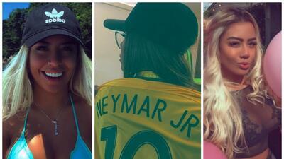 La preciosa hermana de Neymar se enamoró de otro crack brasileño