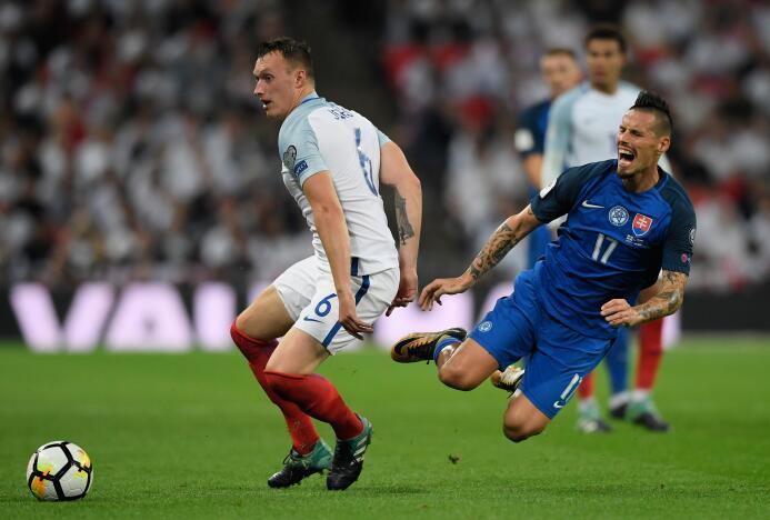 Inglaterra sufrió, pero le ganó a Eslovaquia en Wembley para acariciar e...