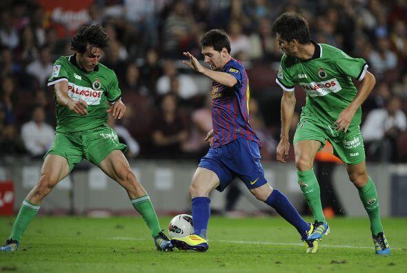 Barcelona tuvo la visita del Racing y se fue goleado.