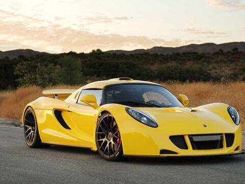 El Venom GT está basado en un chasis modificado de Lotus Elise, e...