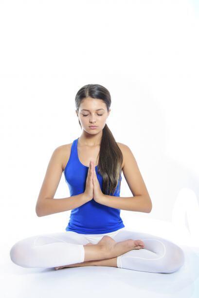 El ejercicio y la yoga también ayudan a sentirse fresco desde el interio...
