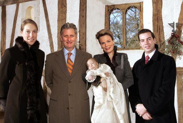 Este otro bautizo real fue celebrado el 4 de octubre de 2005 y es el del...