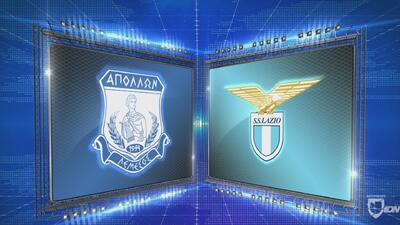 Apollon 2-0 Lazio - GOLES Y RESUMEN - Grupo H - UEFA Europa League