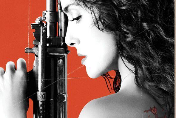 Salma protagonizó la película 'Everly'.