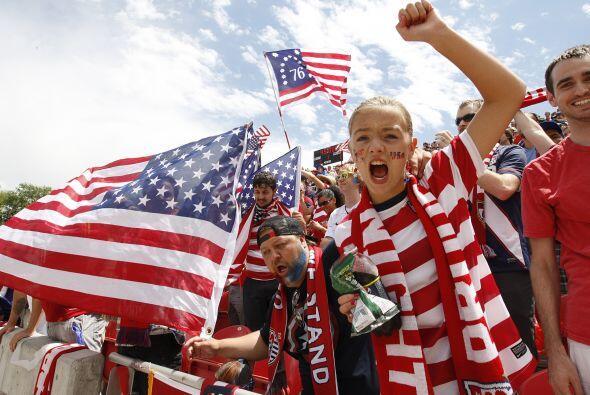 Los estadounidenses han hecho al fútbol soccer uno de sus deportes.