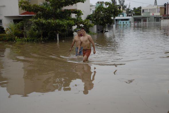 La Antigua, es uno de los poblados veracruzanos más afectados tra...