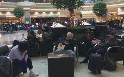 Tormenta invernal causa la cancelación de vuelos en el Hartsfield-Jackson