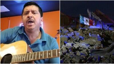 'De luto está mi bandera', el corrido que pone música y voz al trágico terremoto en México