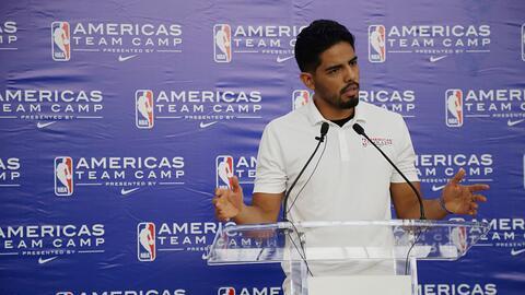 Basquetbolista mexicano Gutiérrez cansado de contratos pequeños en NBA.