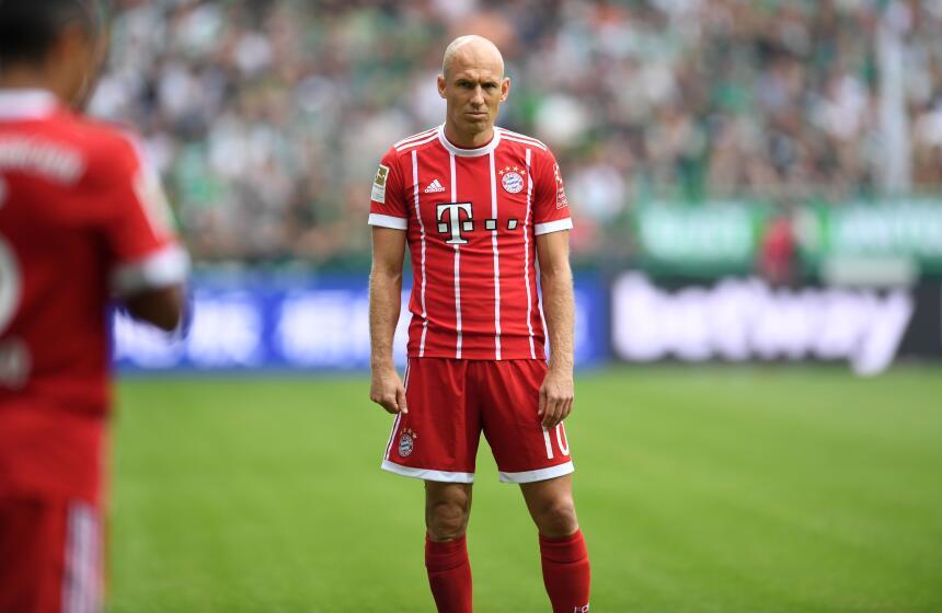 24. Arjen Robben (Bayern Múnich) - Puntaje: 88