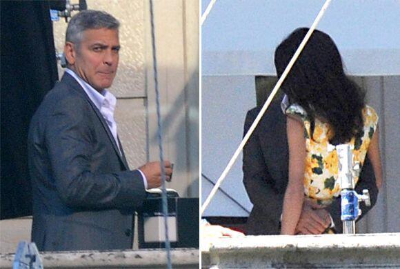 A Amal le entusiasma tanto el convertirse en la esposa de George Clooney...