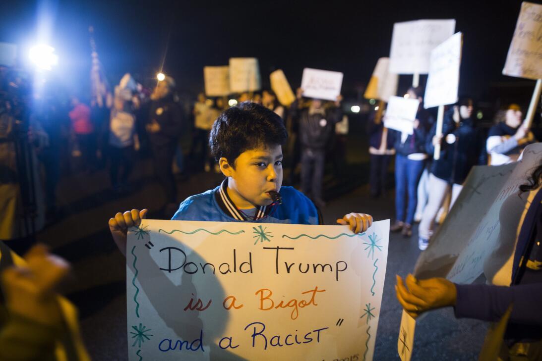 2016 | En la campaña de 2016, con la promesa de deportaciones masivas de...