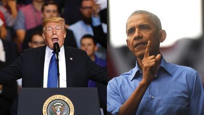 Comparamos los mensajes opuestos de Trump y Obama