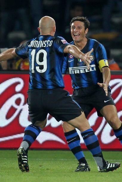 A partir de allí fue todo del equipo de Milán, mientras que el Mazembe s...