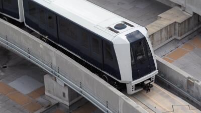 Skytrain  - Tren liviano aeropuerto de Miami